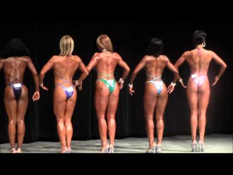 2013 NANBF St.Louis Natural - Open Figure Tall Prejudging