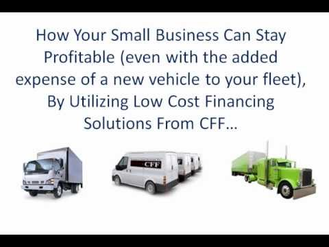 Buying a Commercial Vehicle For Sale? The BEST Commercial Vehicle Financing Company To Work With