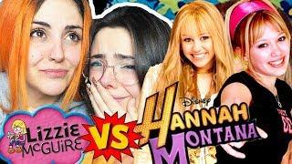 LIZZIE MCGUIRE VS HANNAH MONTANA | Andrea Compton ft Berry