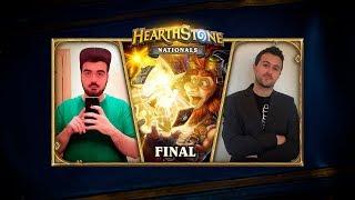 [ES] Hearthstone Nationals - FINAL - Hikigaya vs Bigeldrazi
