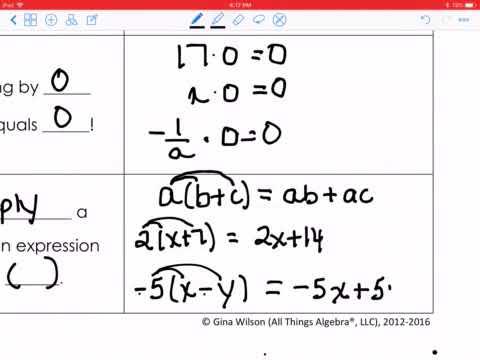 Writing Linear Equations Worksheet Gina Wilson 2017 ...
