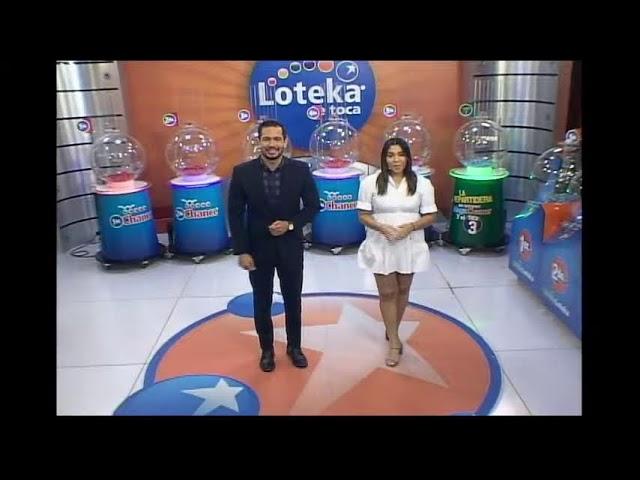 Loteka Lotería Electrónica Sorteo 07:55 PM 08-10-2021