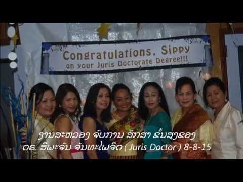 Congratulations to Siphachanh Chanthaphaychith Lao new Juris Doctor