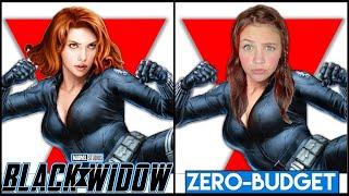 BLACK WIDOW With ZERO BUDGET! Marvel Studios' Black Widow MOVIE PARODY By KJAR Crew!
