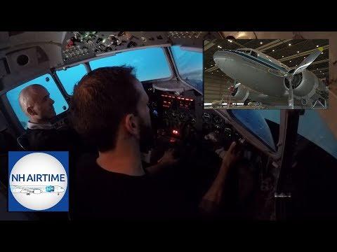 NH AIRTIME S03E03 (NL) | De Dakota DC-3 Simulator