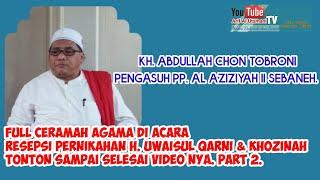 Kh Abdullah Chon Tobroni Sebaneh