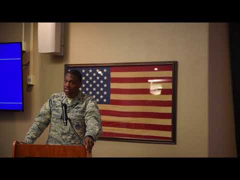 Colonel Parker's MLK Day Speech