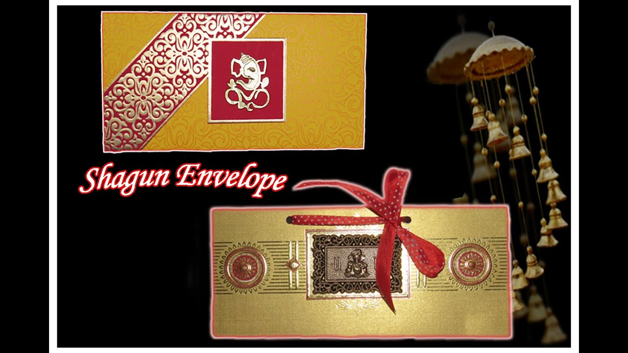 DIY : Best out of Waste : 2 Easy Shagun Envelopes from Old Wedding