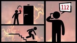 видео Пожарная безопасность в многоквартирном доме 2018