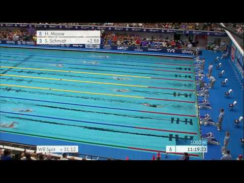 Women's 1500m Free A Final | 2017 Phillips 66 National Championships
