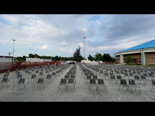 Cuneo, tutto pronto per l'inaugurazione dell'Arena Live Festival