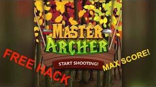 FREE Master Archer HACK Tutorial! Get the Highest SCORE (free messenger game)