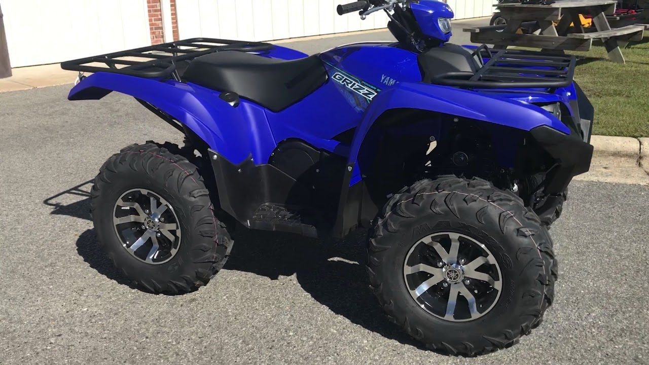 2018 yamaha grizzly eps youtube for 2018 yamaha grizzly 700 specs