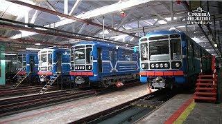 Модернізований поїзд вийшов на лінію нижегородського метрополітену