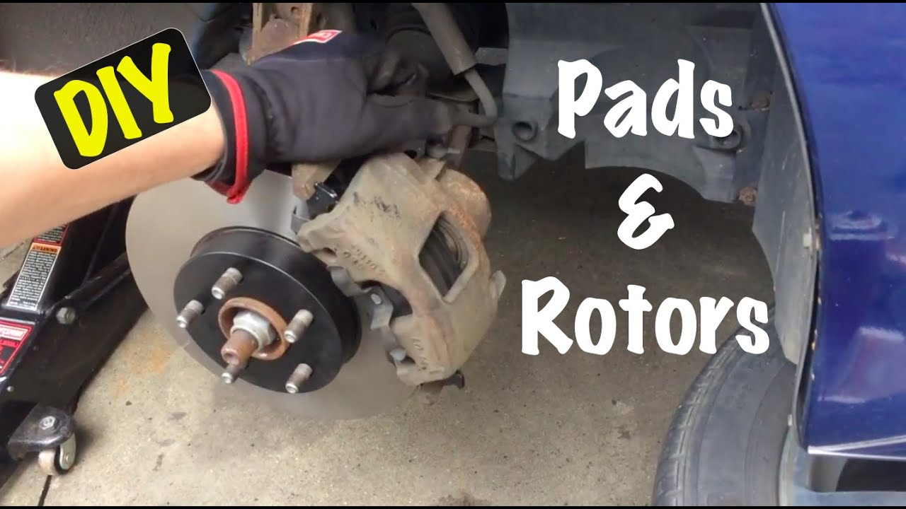 2003 04 05 Chevrolet Cavalier Pontiac Sunfire Front Disc Brake Rotor Pads Replacement