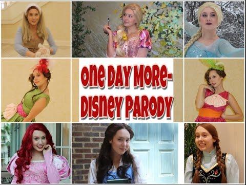 One Day More Disney Parody
