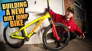 BUILDING A NEW DIRT JUMP MTB & RIDING THE SICKEST JUMPS IN THE UK!