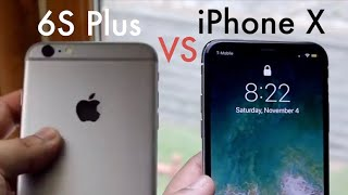iPhone 6S Plus Vs iPhone X In 2018! (Comparison) (Review)