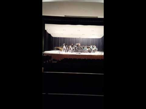"""""""Slane"""" performed by the Cross Roads High School Band at Region 3 UIL Contest"""