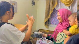 جبنا العيد قبل العيد وفاجأت ماما و حماتي😍