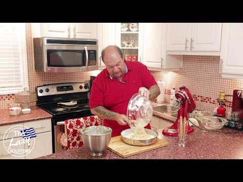 How To Make Ravani Cake - Easy Greek Ravani Sponge Cake Recipe | Ken Panagopoulos