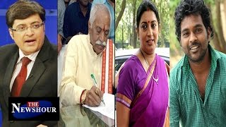 Politics Over SUICIDE Of Rohith Vemula : The Newshour Debate (19th Jan 2016)