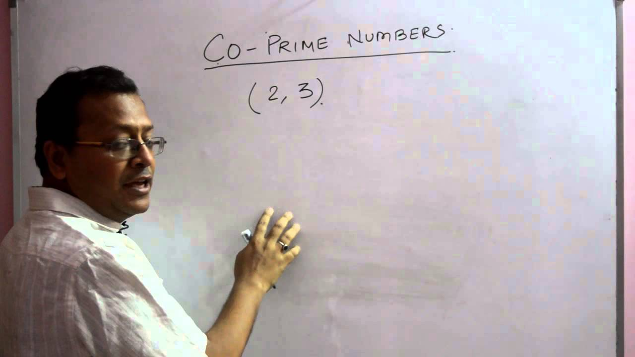 how to find coprime numbers