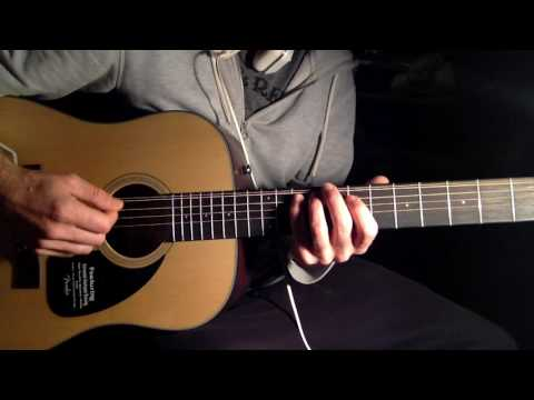 Jimi LittleWing Rendition on a Fender 12 String Acoustic. - Ylia Callan Guitar