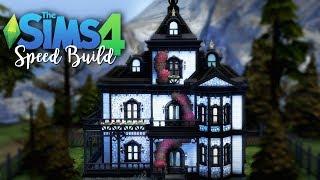 Biała rezydencja w Forgotten Hollow - The Sims 4 Speed Build/ Szybka Budowa