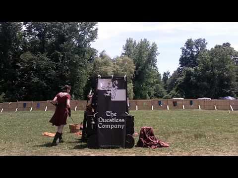 Midsummer Fantasy Renaissance Faire 2014: The Questless Company Scene 2 6/29/14