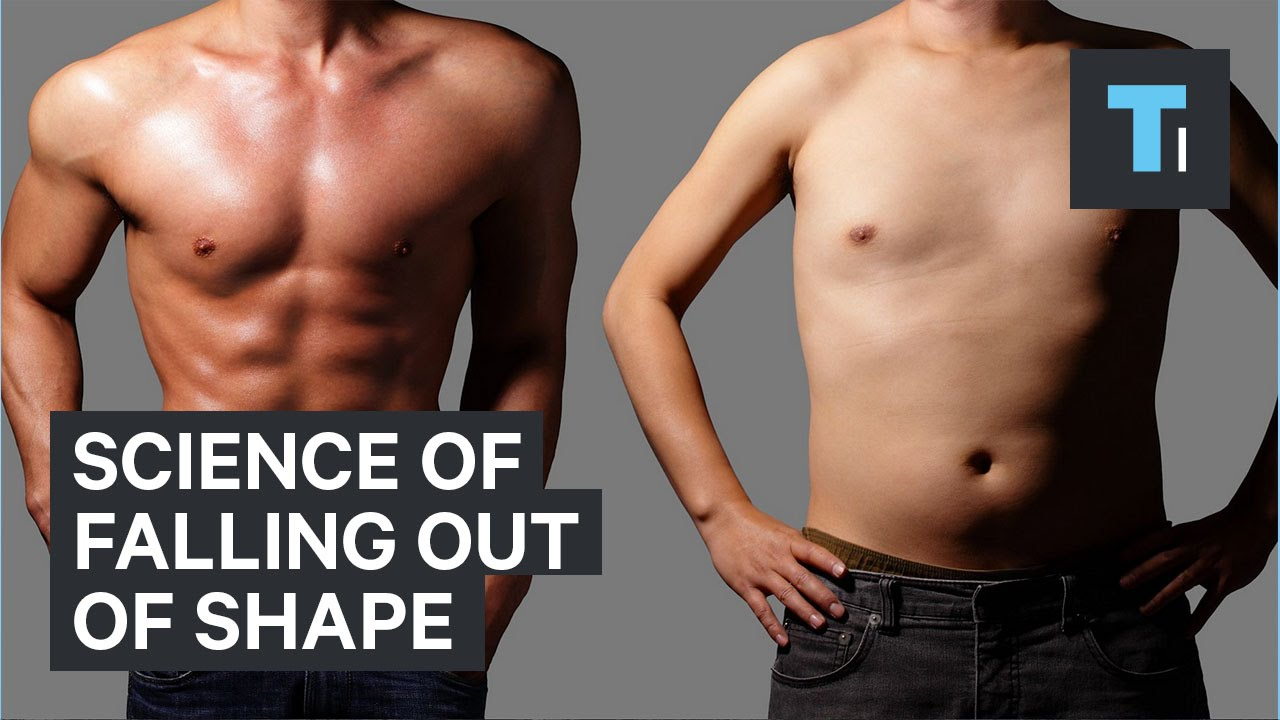 Science of falling out of shape