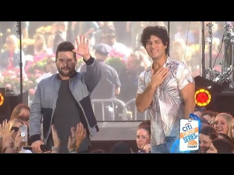Dan And Shay      All To Myself  On TODAY, June 25, 2018 With Lyrics