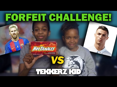 Ultimate Football Forfeit Challenge VS BROTHER!! | Can You Complete This??