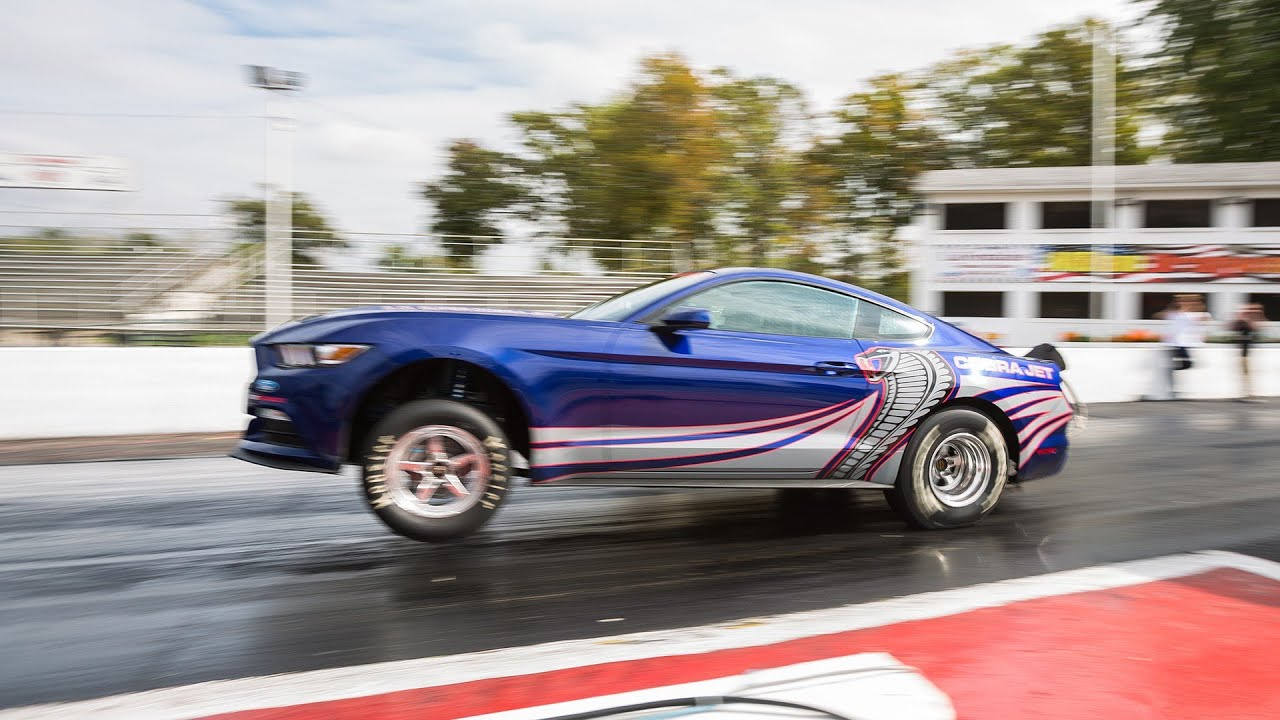 2016 Ford Mustang Cobra Jet Drag Racer Interior and Exterior - YouTube