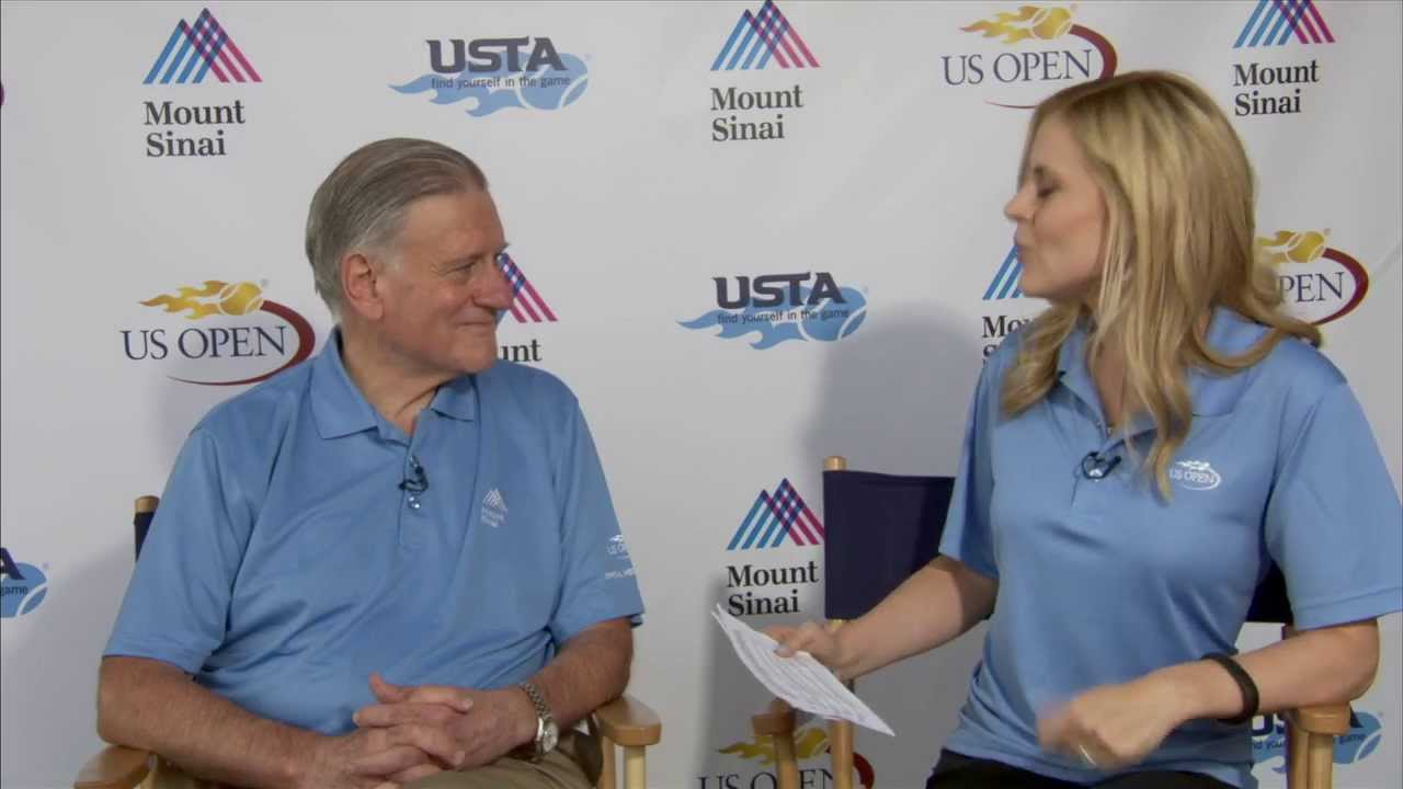 Dr. Valentin Fuster discusses Heart Healthy Benefits of Tennis at the US Open