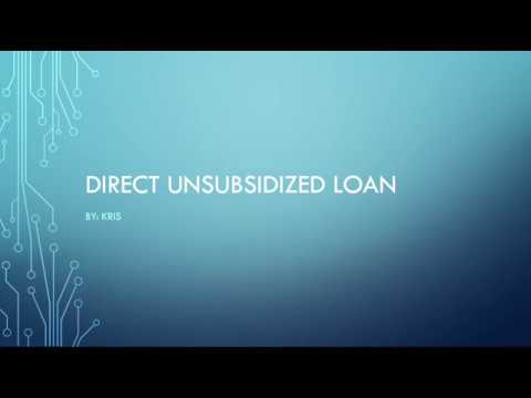 what-is-a-direct-unsubsidized-loan?
