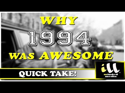 Why 1994 Was Awesome!  A Rap Year In Review