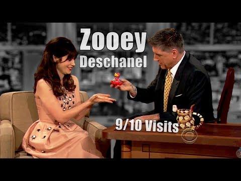 "Zooey Deschanel - Craig Describes Her Singing Voice As ""Innocent & Husky"" - 9/10 Visits I[Mostly Hd]"