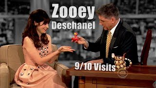 Zooey Deschanel - Craig Is Powerless By Her Cuteness - 9/10 Visits [Mostly HD]