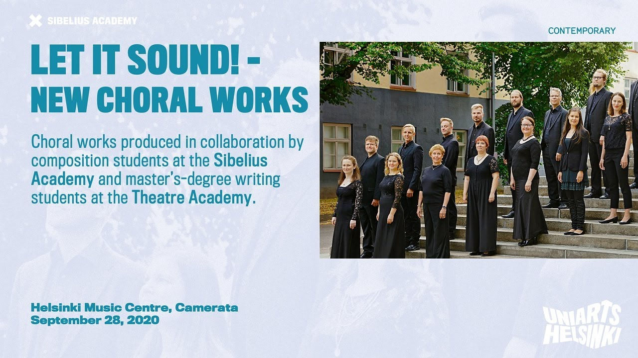 Let it sound! – New choral works
