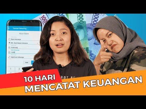 """""""10 Hari Mencatat Keuangan""""  With Cintya Dan Miriam #FinansialkuChallenge2"""