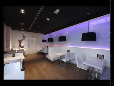 Agencement et design d 39 int rieur p tisserie mora piera youtube - Interieur design ...