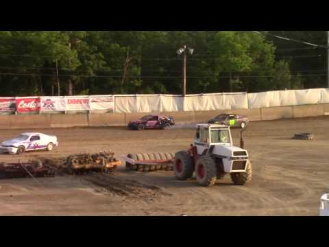 Old Bradford Speedway Kids Mini Stock Heat Race 8-6-17