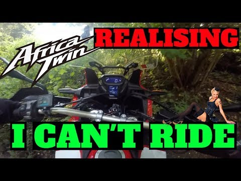 Realising I can't ride | Africa twin | Crf1000l