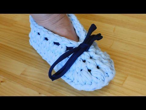 Tutorial: Zapatillas de trapillo para estar en casa.