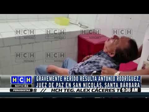 ¡ Atentan contra juez en san Nicolás, Santa Bárbara !