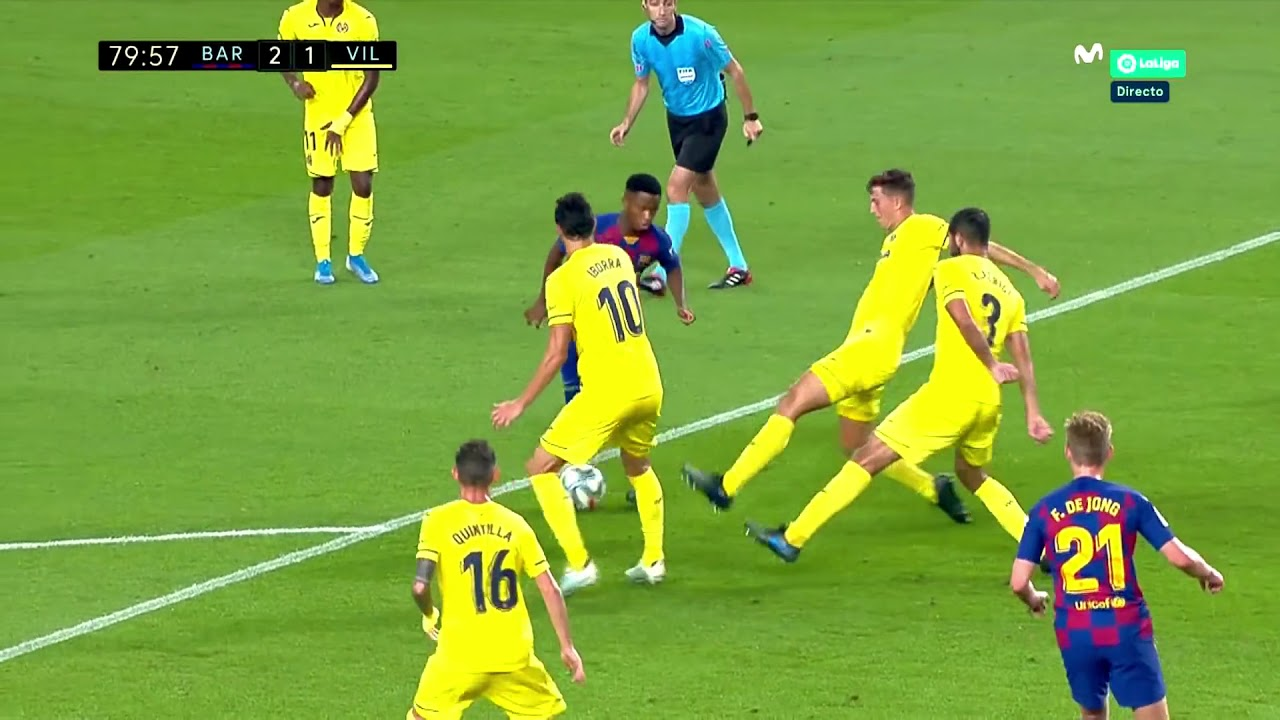 Download ANSU FATI vs Villareal
