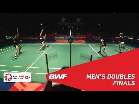 F  MD  GIDEONSUKAMULJO INA 1 vs LILIU CHN 2  BWF 2018