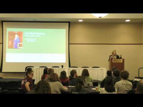 Friday Evening Plenary Lisa Marsh Ryerson
