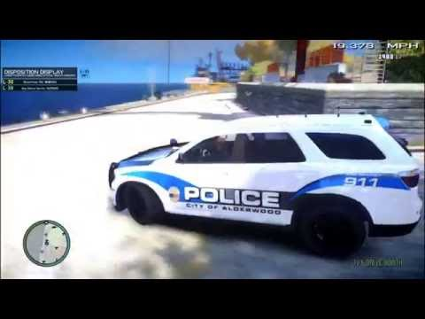 AFRR:  Noise Complaint turns Shootout | Alderwood Police | GTA IV